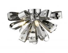 Z-Lite 9001F-CH - 5 Light Flush Mount