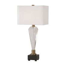 Uttermost 27904-1 - Uttermost Cora Geometric Crystal Table Lamp