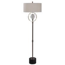 Uttermost 28199-1 - Uttermost Pitaya Antique Brass Floor Lamp