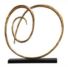 Uttermost 18813 - Uttermost Oma Twisted Gold Sculpture