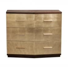 Uttermost 25983 - Uttermost Verdura Brushed Gold Accent Chest
