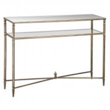 Uttermost 24278 - Uttermost Henzler Mirrored Glass Console Table